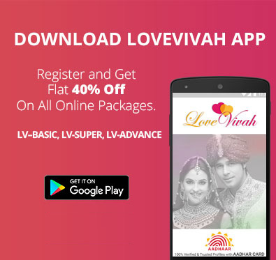 Get 40% off on online packages at 	Lovevivah.com
